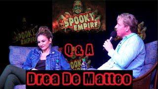 Drea De Matteo at Spooky Empire 2016 [Q&A]