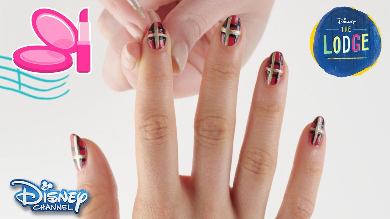 The Lodge | Nail Art Tutorial: Kaylee | Official Disney Channel UK ...