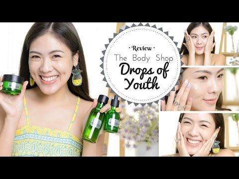 REVIEW สกินแคร์ตัวใหม่ที่ใช้ The Body Shop Drops of Youth ใช้แล้วหน้าฟูตึงกระชับ | icepadie