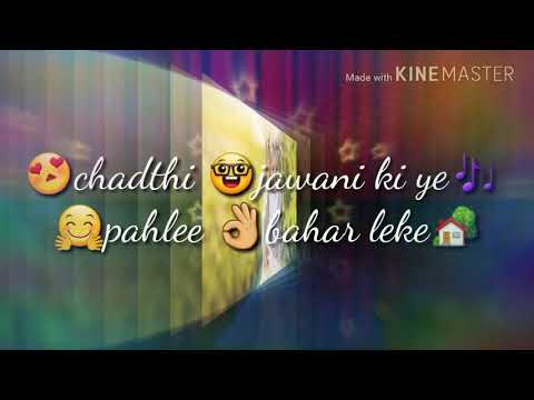 New What's App Status Video Aayi Ho Kha Se Gori Ankho Me Pyar Leke