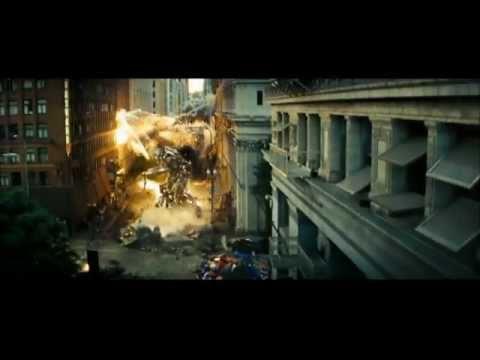Transformers:Optimus Prime vs Megatron( New Divide Music Video)  (HD)