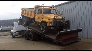 Delivering the Dump Truck