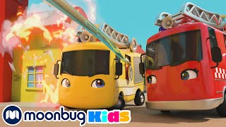 Buster the Hero Fire Truck Saves the Day Song | Best Songs | Cartoons for Kids | Nursery Rhymes