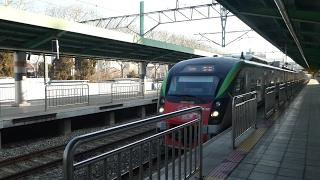 ITX-青春 京義中央線西氷庫駅通過 한국철도공사 경의·중앙선 ITX-청춘호