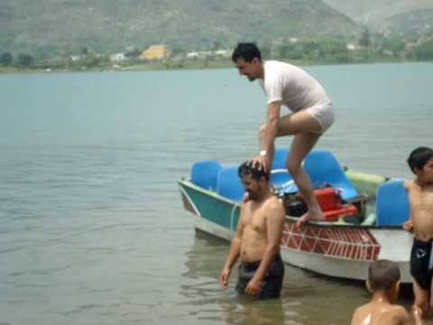 Shigri Jump In Khanpur Dam Islamabad Pakistan