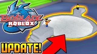 *EPIC UPDATE!* You Can Battle NPCS in Roblox BEYBLADE NOW! (Beyblade: Rebirth)