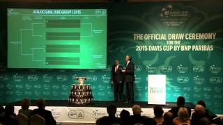 Davis Cup - Highlights of the Davis Cup 2015 Draw