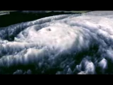 How a hurricane is born -  The Science Of Superstorms - BBC