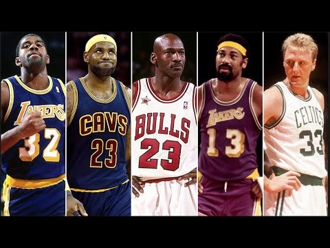 Every Nba Team S All Time Starting 5 Youtube