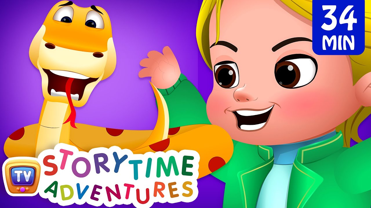 The King's Vases, Snake & The Ants, Turtles & Monkeys - ChuChu TV Storytime Adventures Collection