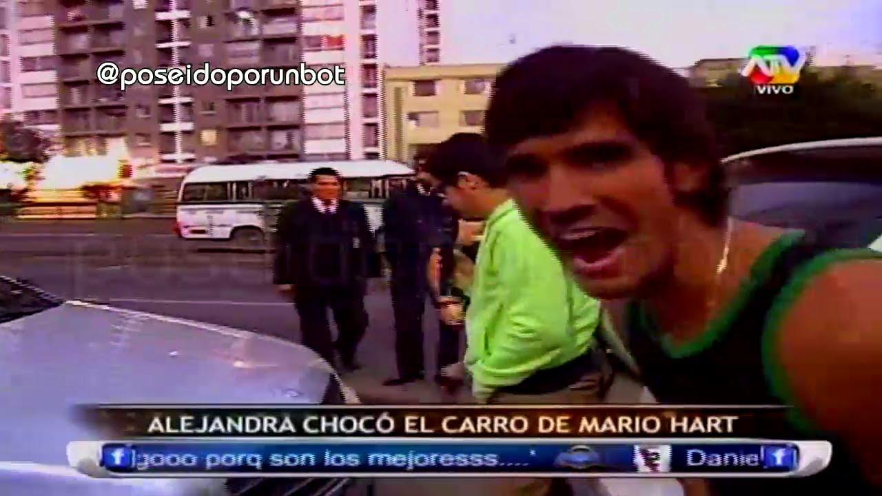 COMBATE: Alejandra Choco el Carro de Mario Hart 18/07/13 by poseidoporunbot