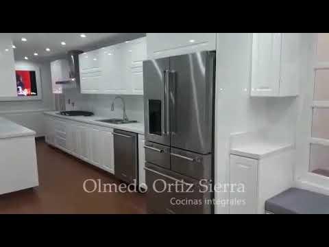 Cocina Integral Blanca Grande Cali Youtube
