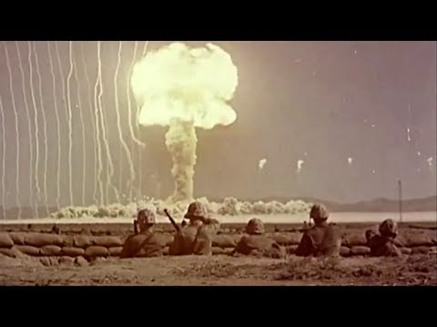 U.S. Army Atomic Bomb Blast Effects - 1959 Atomic Bomb Explosion Test Footage