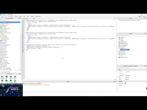 How To Make A Sprint Script In Roblox Studio Youtube