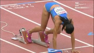 Libania Grenot 400m F Oro Zurigo 2014
