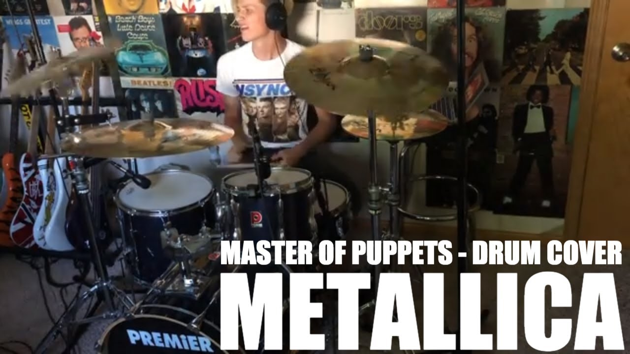 Download METALLICA - Master Of Puppets - Drum Cover