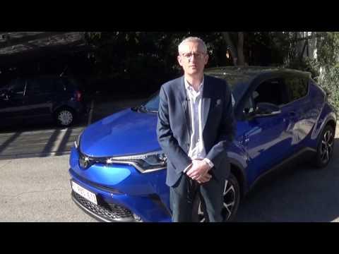 Toyota C-HR - Le crossover hybride présenté par Ludovic Billiet - Directeur marketing