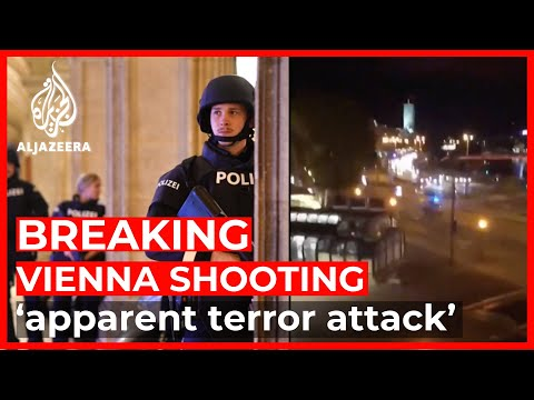 Breaking News: Vienna shooting 'apparent terror attack': Interior Minister