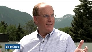 Larry Fink: The Only Certainty of Brexit Is a Lot of Uncertainty