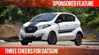 Three Cheers For Datsun! | Datsun redi-GO | Sponsored Feature