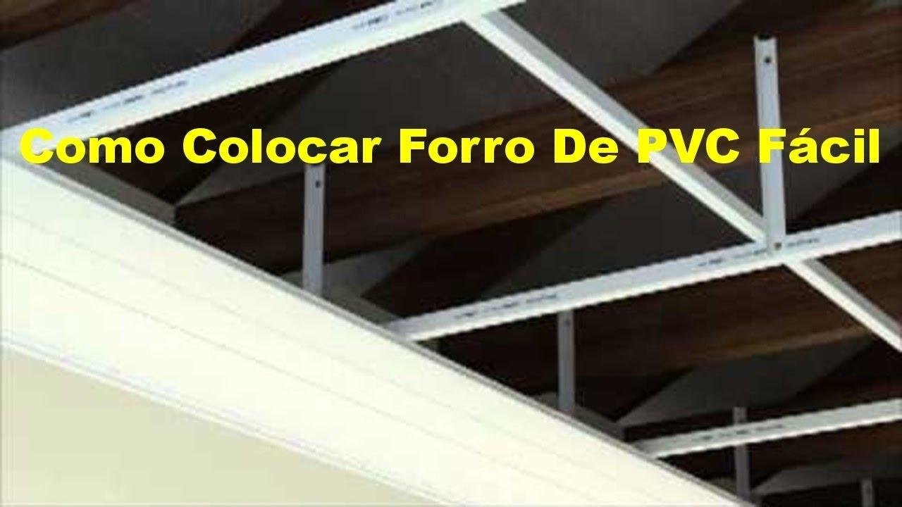 7c6efef18dba Como colocar forro pvc fácil-forro de pvc como instalar passo a passo  simples