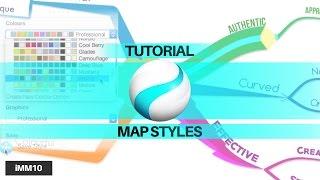 Tutorial: Map Styles - iMindMap 10