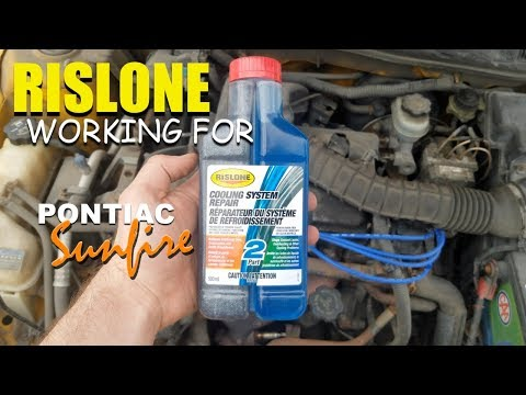 RISLONE Cooling System Repair/ Stop Leak WORKING 2002 Pontiac Sunfire