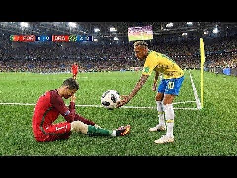 عندما يحترم نجوم كرة القدم بعضهم البعض.. أكثر اللحظات المؤثرة !!