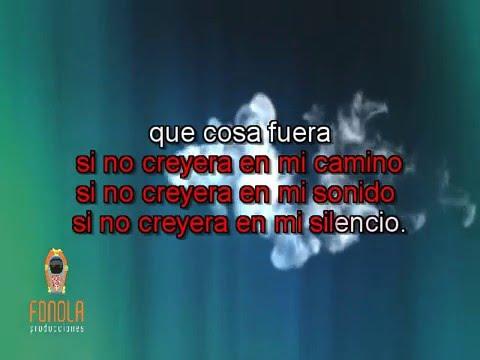 Karaoke - La Maza (estilo M. Sosa)