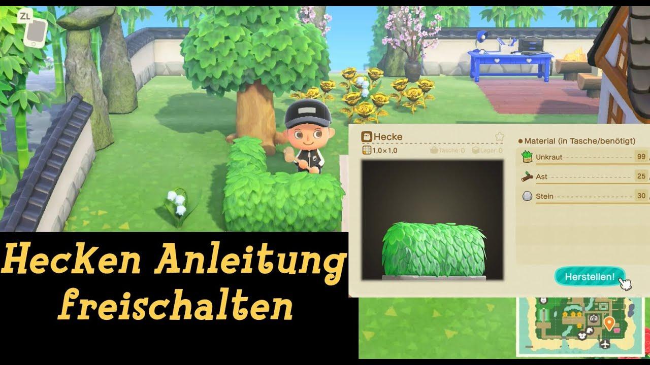 Hecke Anleitung Erhalten Update 1 2 0 23 04 Animal Crossing New