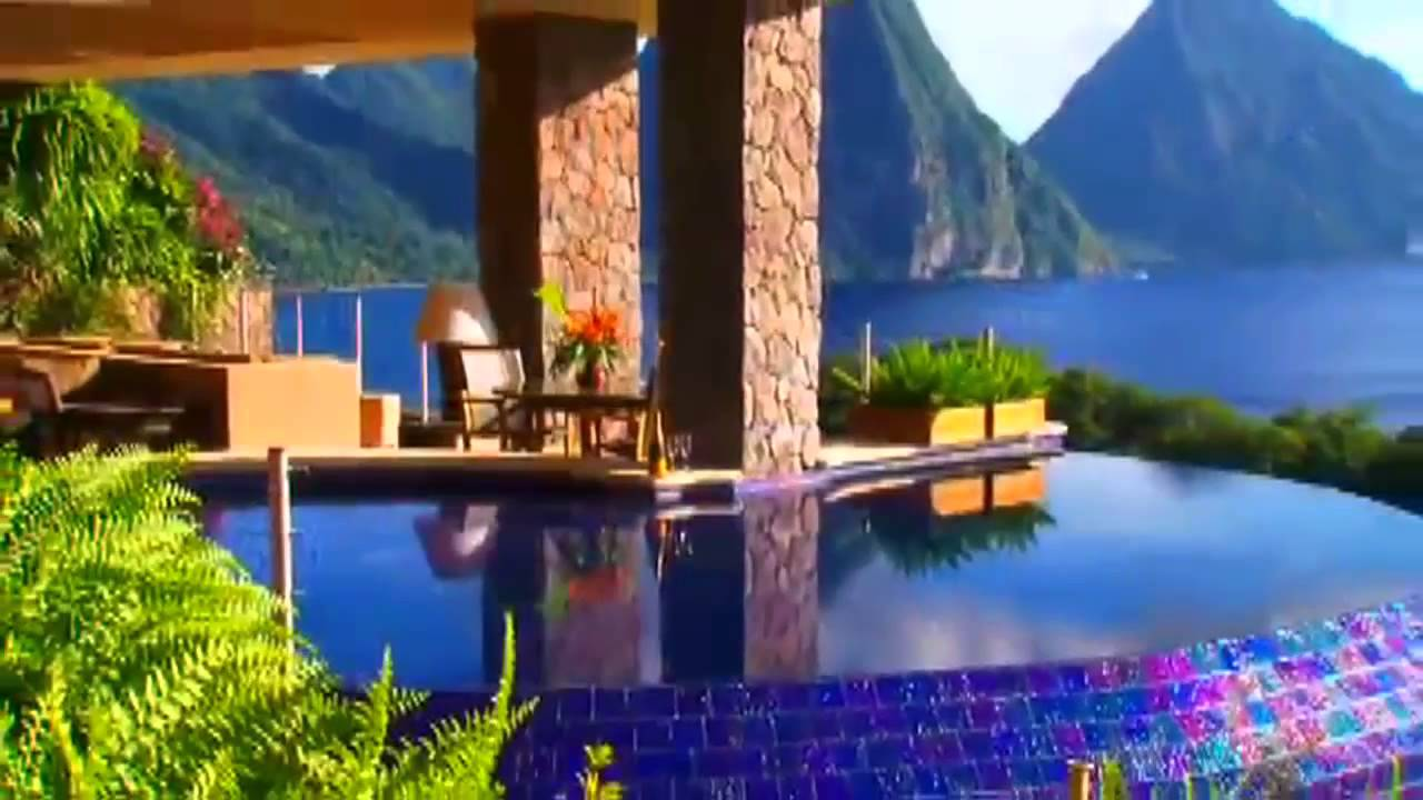 jade mountain - st. lucia the perfect honeymoon destination - youtube