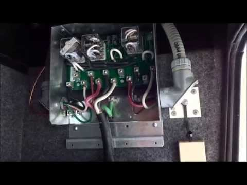 Replacing a RV 50 amp automatic transfer switch (ATS