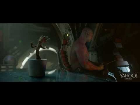 Watch the dancing Groot scene from Guardians of the Galaxy