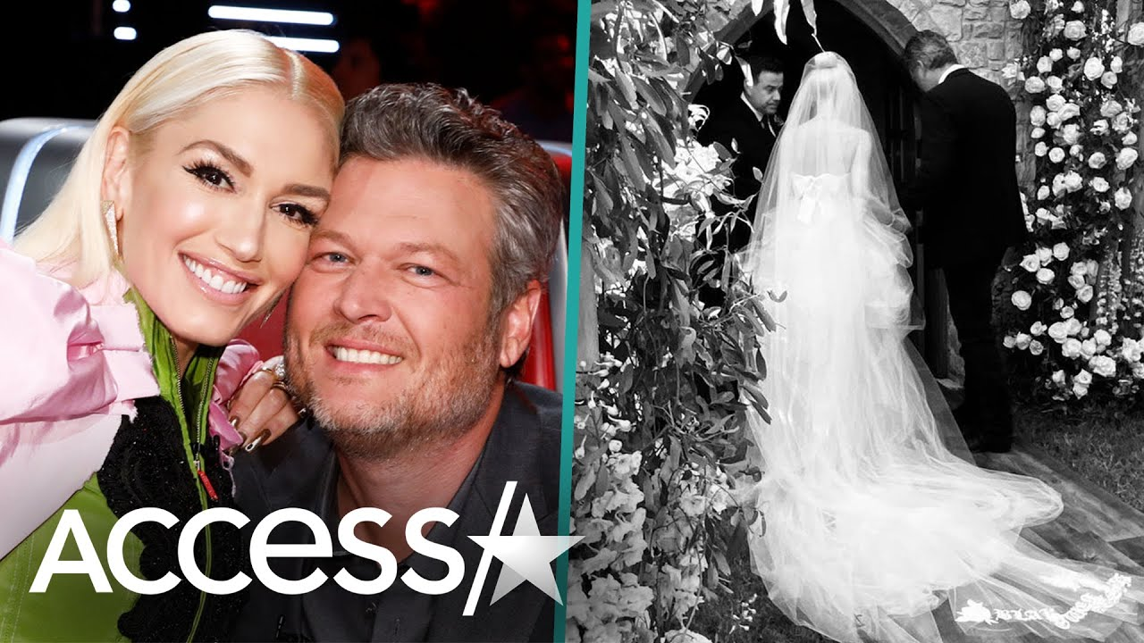 Gwen Stefani Marks Marrying Blake Shelton 2 Weeks Ago w/ New Pic