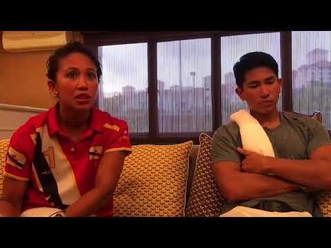 Prince Azemah and Prince Mateen Bolkiah Interview Sea Games 2017