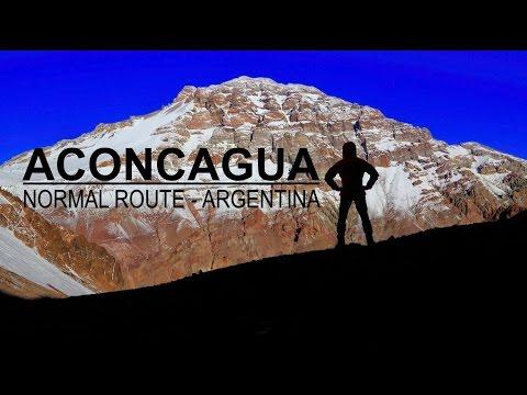 Aconcagua - Mount 6962 m - Normal route