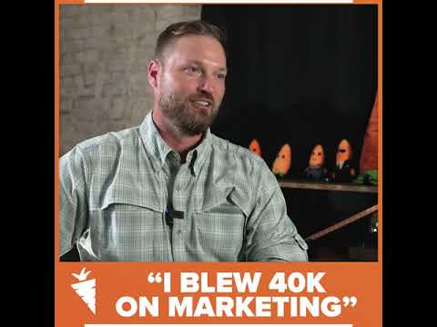 """I blew 40k on marketing"" - Adam Mitchell, Investor"
