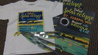 Solar eclipse merchandise in hot demand
