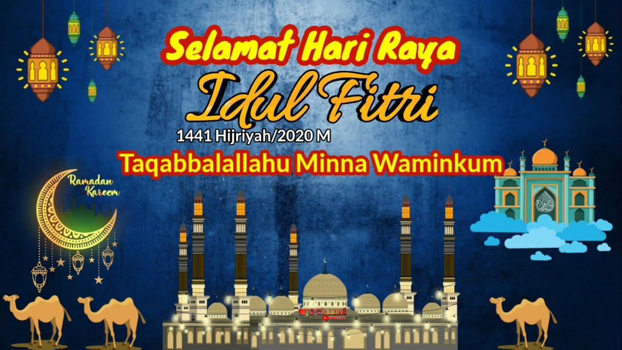Story Wa Ucapan Selamat Idul Fitri 1441h 2020 Ucapan Lebaran 2020 By Mjo Channel Youtube