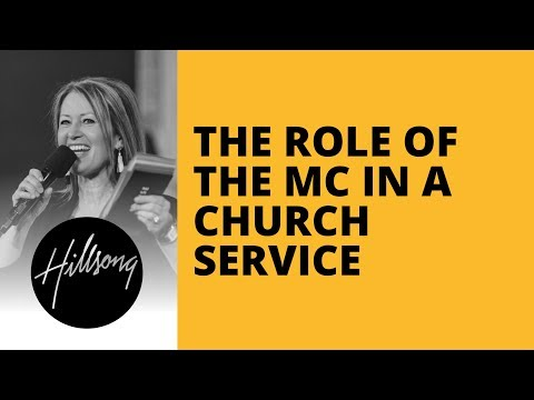 The Role Of The MC In A Church Service | Hillsong Leadership Network