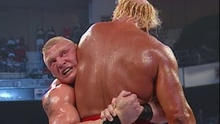Brock Lesnar vs. Hulk Hogan: SmackDown, August 8, 2002 thumbnail