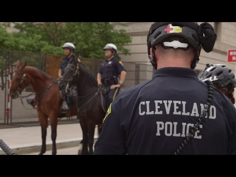 Cleveland prepares for unrest
