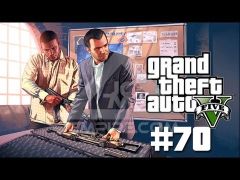 GTA V Walkthrough Part 70 - BUYING GUNS AND THE STRIP CLUB
