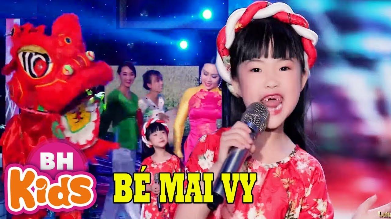 NGÀY TẾT QUÊ EM ♫ Thần Đồng Âm Nhạc Bé Mai Vy - Lưu Ánh Loan | Nhạc Tết Thiếu Nhi