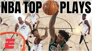 Top Plays: Celtics Vs. Raptors Game 2, Jazz Vs. Nuggets Game 7 | 2020 NBA Playoffs