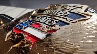 REAL WCW UNITED STATES CHAMPIONSHIP TITLE BELT - WOW US Belt