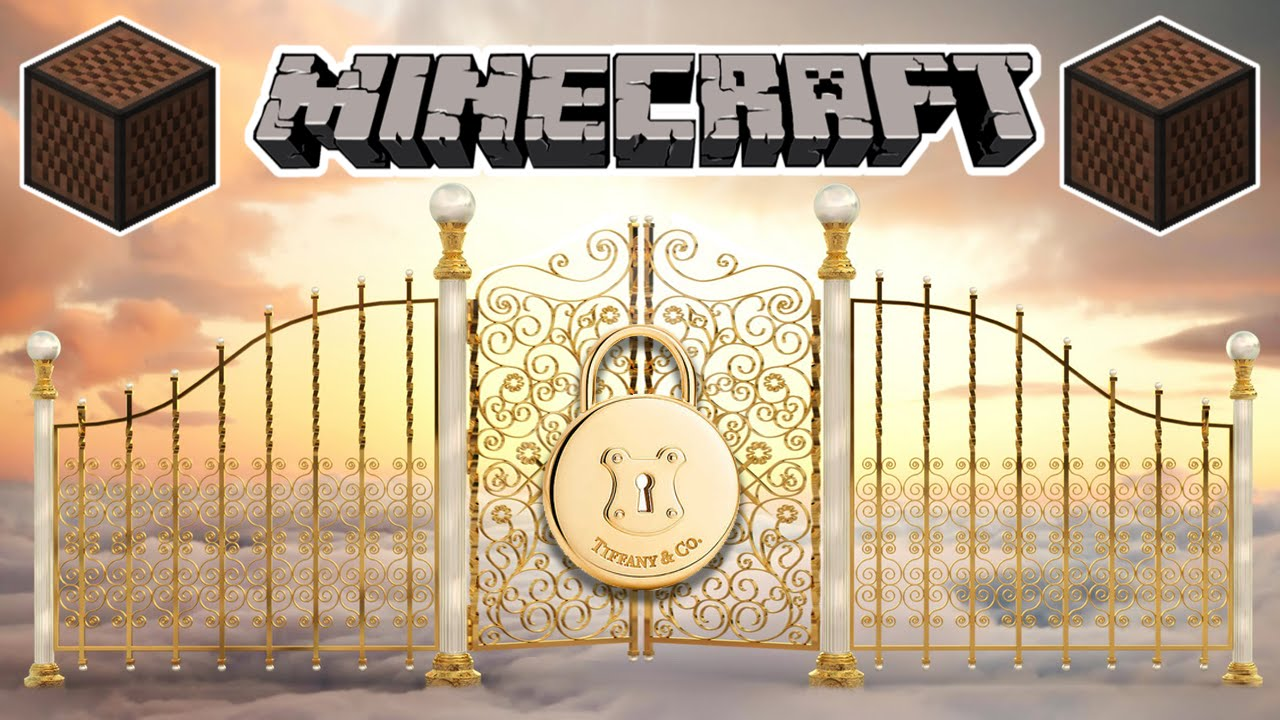 ♪ [FULL SONG] MINECRAFT Locked Out Of Heaven by Bruno Mars in Note on