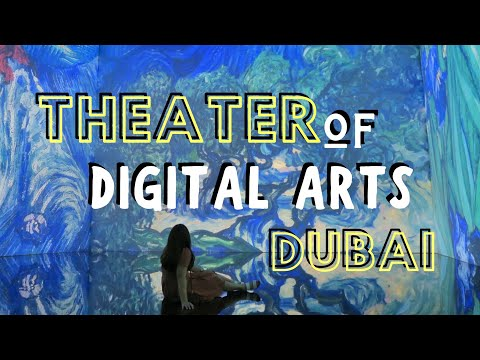 TODA DUBAI TOUR   Theater of Digital Arts Dubai in Souq Madinat Jumeirah   TODA Dubai Review