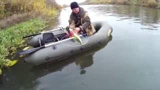 р. Мокша трудовая рыбалка на спиннинг в районе г.Темников