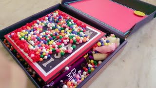 Box f Gifts ➡️ #Love Theme #Birthday Scrapbook with #Chocolates  #Teddy...🎁